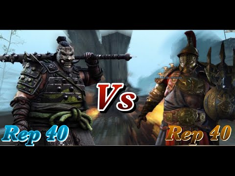 For Honor - Number 2 Ranked Gladiator Vs Best Shugoki On Xbox! The Rematch!