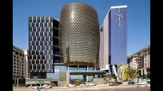 The M.A.R.K - R3 billion golden tower/mall in Sandton, South Africa✔