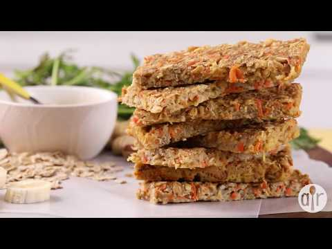 How To Make Banana Oat Energy Bars | Snack Recipes | Allrecipes.com