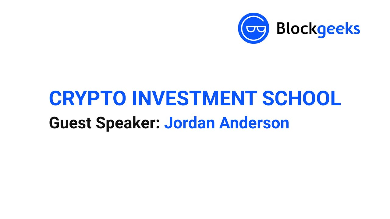 Institutional Bitcoin Investing with Jordan Anderson