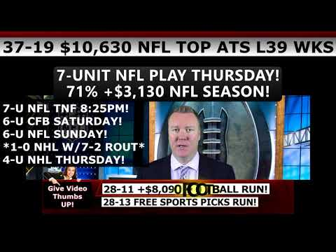 28-13 FREE SPORTS PICKS RUN – Expert College Football Predictions ATS 10/07/17 Vernon Croy