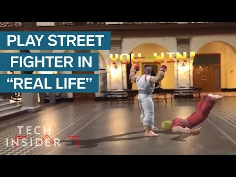 Play Street Fighter In Real Life With Augmented Reality