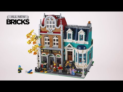 Lego Creator Expert 10270 Bookshop Speed Build