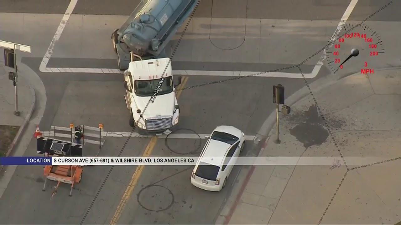 Police chase stolen tanker truck carrying 2 | worduser01