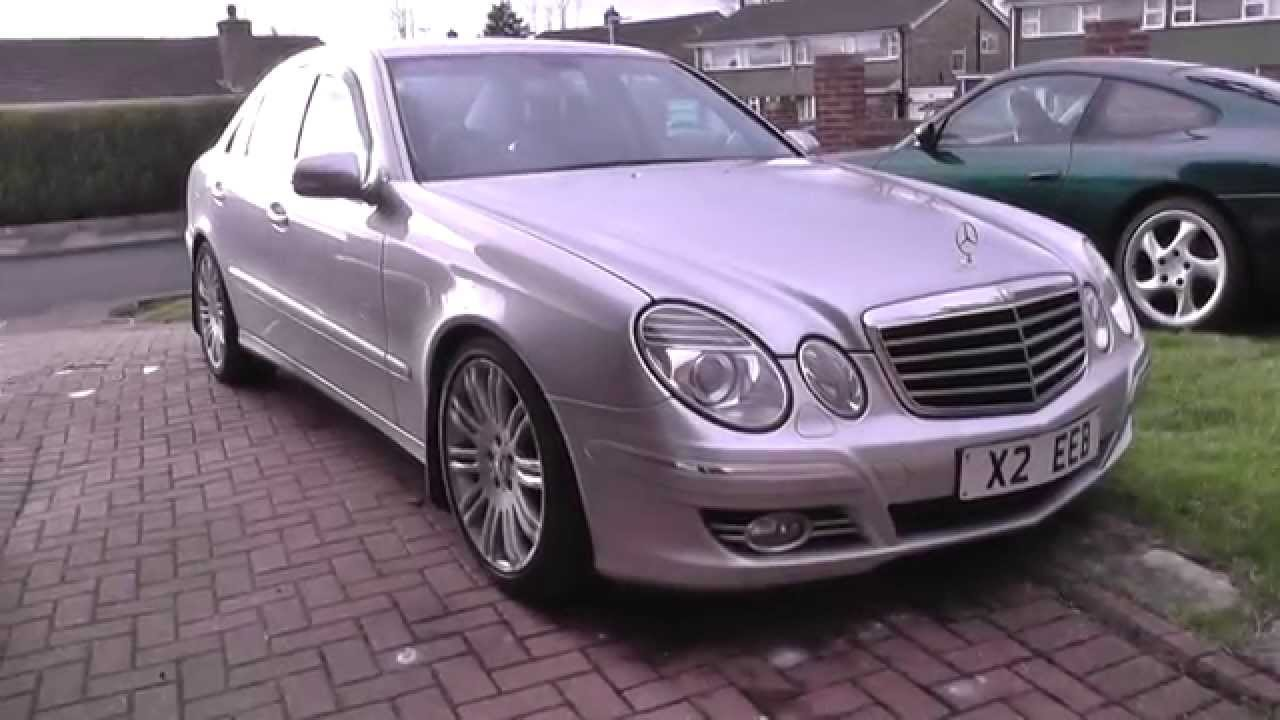 My Mercedes E Class Facelift W211 Sport Cdi Tour Amp Walkaround 18 Quot Alloys Youtube