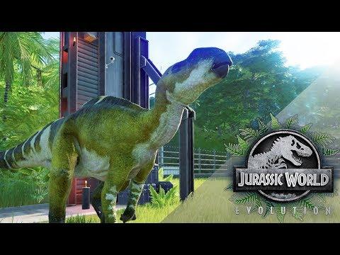 Release the Muttaburrasaurus!! 🦕🌿 Jurassic World Evolution