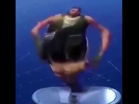 FORTNITE DEFAULT DANCE  EARRAPE NO SKIN VERY THICC
