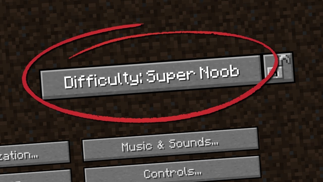 Noob Difficulty | McMakistein