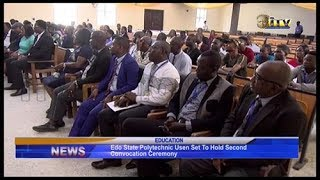 Edo Poly set to hold second Convocation Ceremony