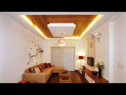 Wood False ceiling designs for living room and Bedroom ...