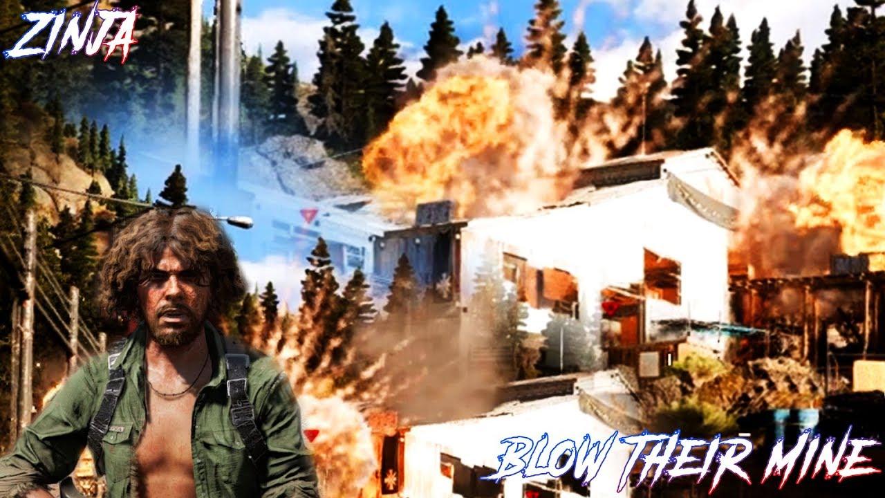 Man Cave Far Cry 5 Walkthrough : Far cry blow their mine zip kupka fc hard mission