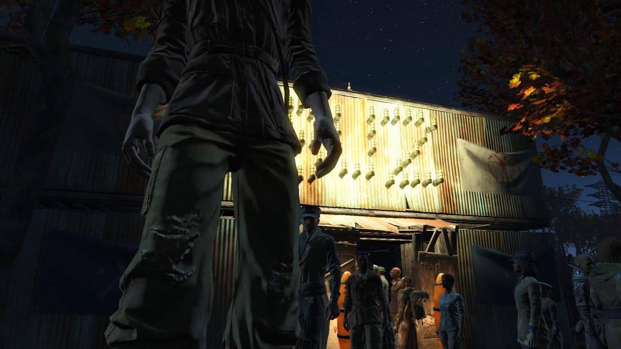 Fallout 4 77 Settlers Sanctuary Bigger Than Diamond City