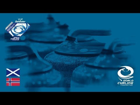 Scotland v Norway - Men round-robin - World Junior Curling Championships 2018