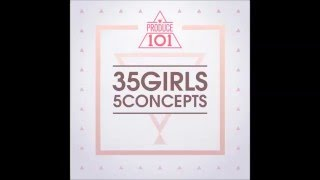 produce 101   35 girls 5 concepts pinkrush   fingertips