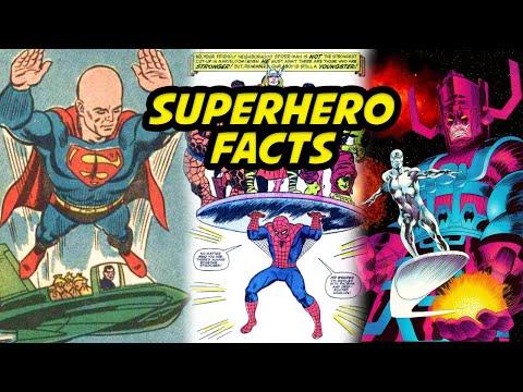 SUPERHERO FACTS COMPILATION