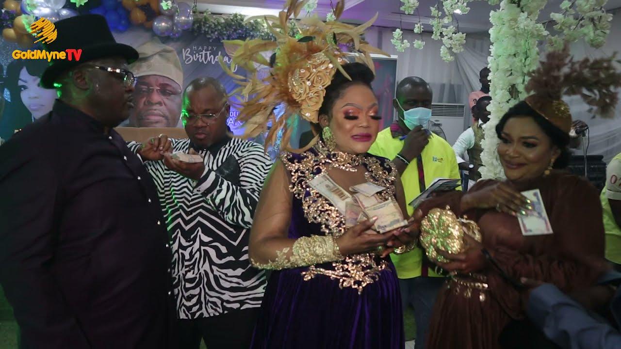 GLITZ AND GLAMOUR AT 61TH BIRTHDAY OF AJIBOLA AJIBSON IN LAGOS