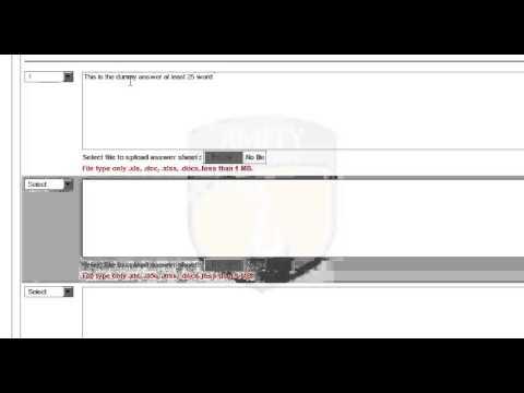 University assignments online