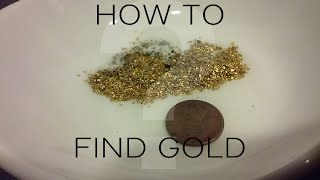 Ohio Gold Prospecting (PART I: Where & How to find gold in a creek) April 2016