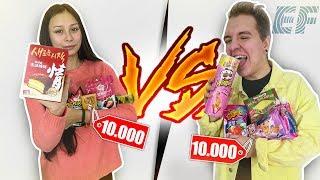 Kto lepiej wydał 10 TYSIĘCY na słodycze w Korei?