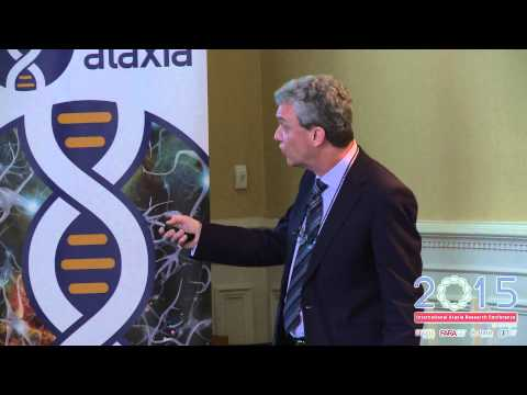 Dr Mark Pook's talk on current drug treatments research in Friedreich's ataxia