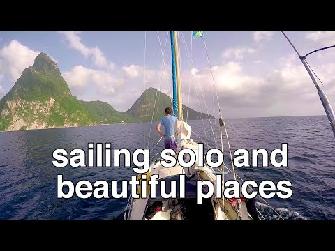 Sailing solo and finding beautiful places - Sailing Tarka Ep. 9