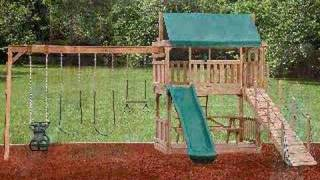 Outdoor Swingsets: What One Boredom-busting Playset Can Do
