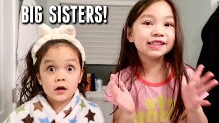 They're going to be Big Sisters!!! - itsjudyslife