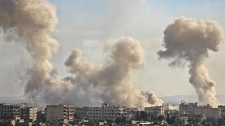 AS, Perancis dan Inggris Serang Suriah