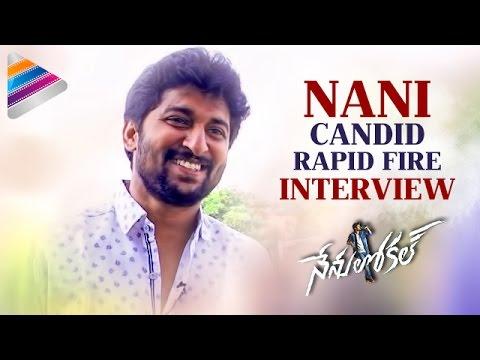Nani Calls Keerthy Suresh THE Cutest ACTRESS | Nani Funny Rapid Fire Interview | Nenu Local Movie