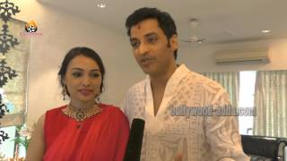 Ganesh Hegde And His Wife Ganpati Pooja 2015