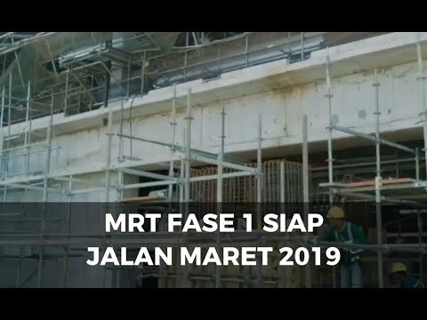 MRT Rute Lebak Bulus - Bundaran HI Siap Jalan Maret 2019 Mp3
