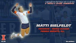 Illinois Volleyball - Meet the Team: Matti Bielfeldt