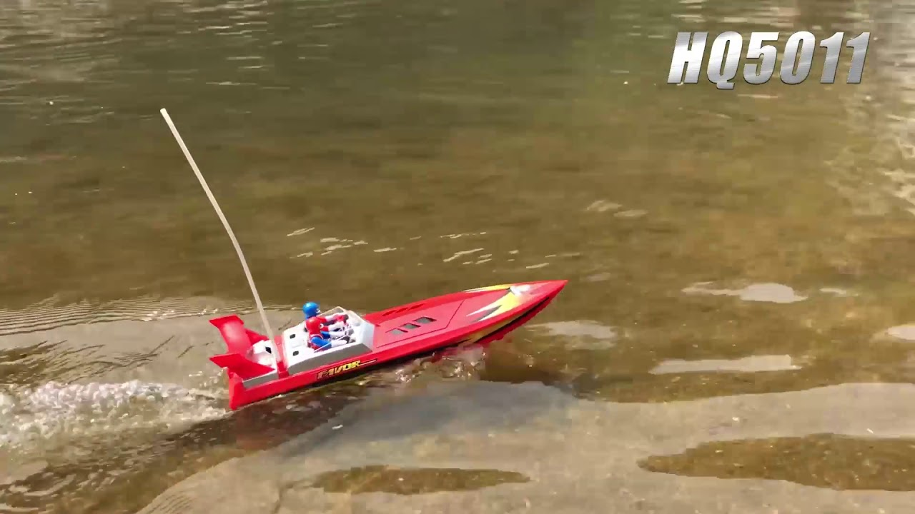 Flytec HQ5011 High Speed RC Boats Remote Control Toy Boat - YouTube