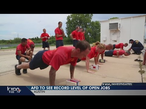 Austin Fire Department faces record number of openings