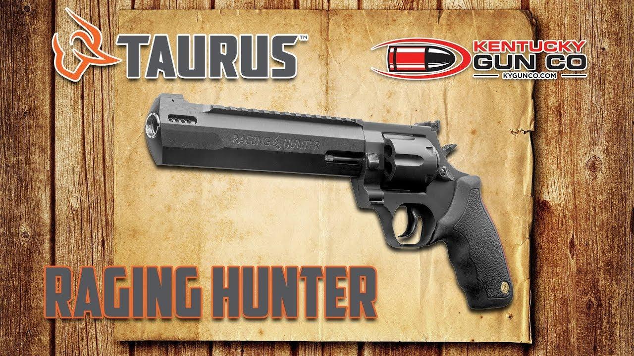Taurus Raging Hunter 44 Magnum - YouTube