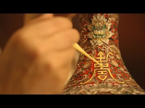 Chinese Arts and Crafts: The everlasting beauty of the cloisonne