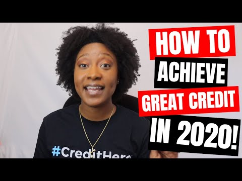 How to Improve Your Credit Score in 2020 | 5 Simple Tips | KeAmber Vaughn