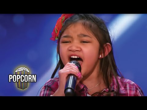 Thumbnail: America's Got Talent 2017 Angelica Hale 9 Year Old Stuns Simon & The Crowd Full Audition S12E02