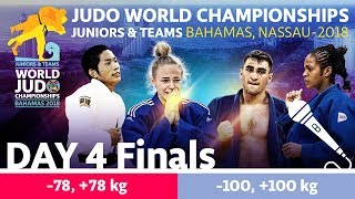 World Judo Championship Juniors 2018: Day 4 - Final Block