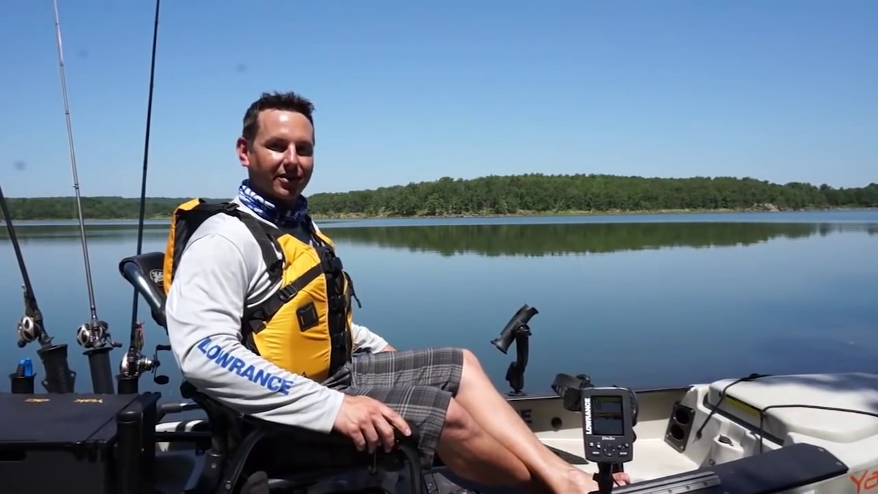 Lowrance Elite 3x Fishfinder On The Water Youtube