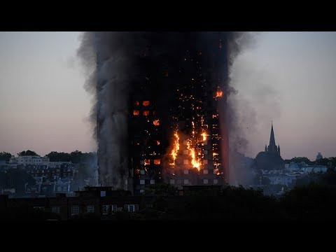 Several people killed in London tower block blaze