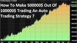Trading Auto Signal Strategy To Earn Consistent Huge Profits - Simple Trading Strategy