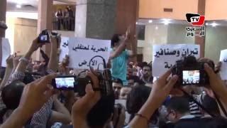 هتافات داخل «مجلس الدولة» بعد رد المحكمة: «الجزر دي مصرية»