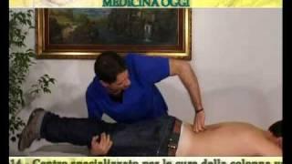 Terapie per dolori lombari [Rachis Center](Il tratto lombare è il segmento vertebrale maggiormente sottoposto a sollecitazioni meccaniche sia di tipo statico, in relazione al carico, sia di tipo dinamico, ..., 2011-03-22T11:05:12.000Z)