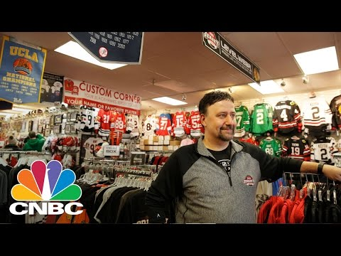 Small Business Owner Of 'Pro Jersey Sports' Saves Using Unusual Strategies   My Success Story   CNBC