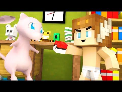 Minecraft Daycare - BABY PLAYS POKEMON GO ?!