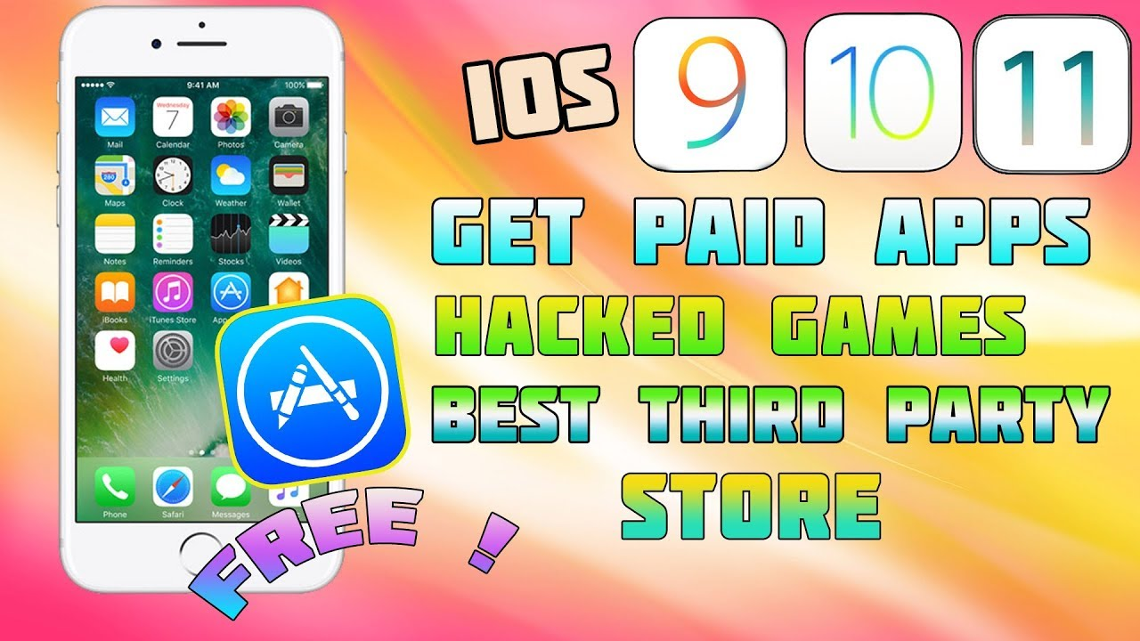 NEW Best Methods Get PAID & Apps for FREE + Games iOS 9/11/10