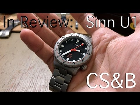 In Review: Sinn U1 - The Diving Watch Made of German Submarine Steel - You Like Bratwurst?
