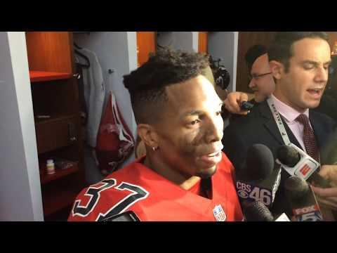 Atlanta Falcons vs Saints 12-7-17 DB Ricardo Allen postgame interview -  YouTube