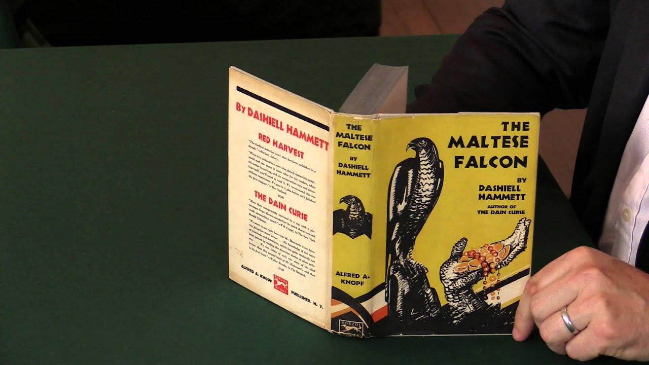 Download Dashiel Hammett, The Maltese Falcon, first edition.